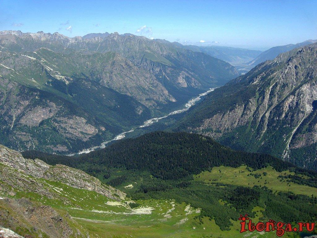 Домбай, лето, Кавказ, фото поездка, горы, Домбайская поляна