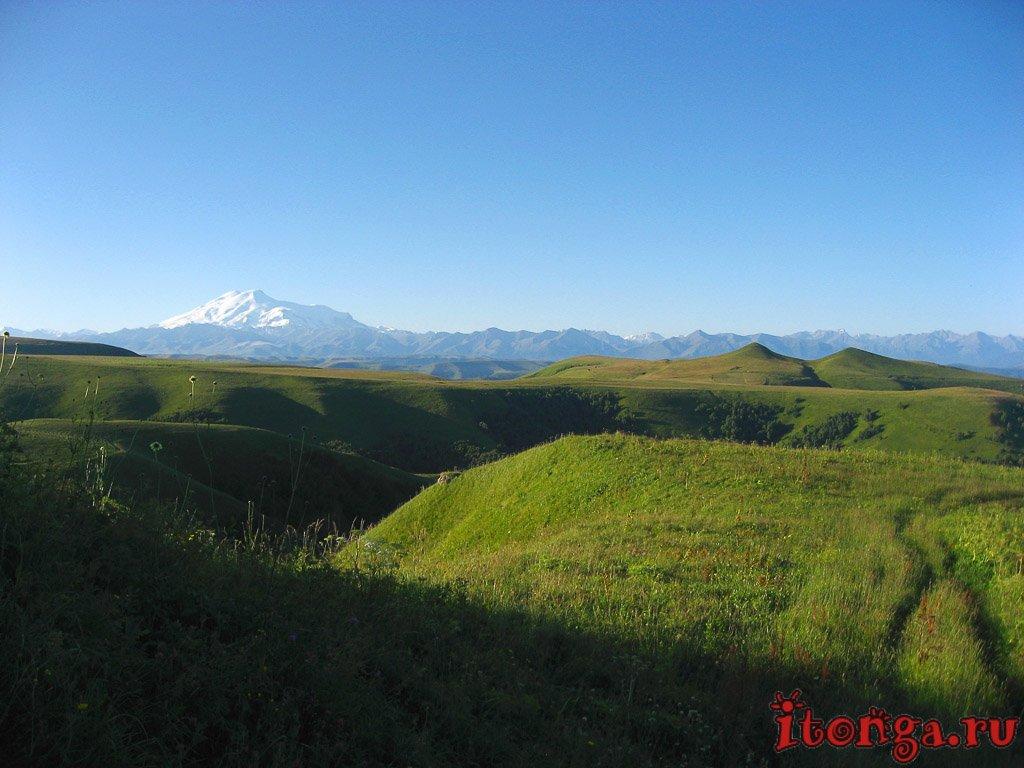 Гумбаши, перевал, гора, смотровая площадка, Эльбрус, Маринский перевал