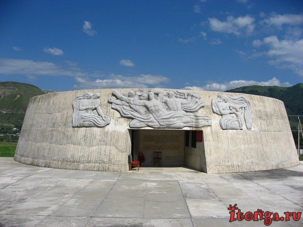 Музей, памятник защитникам, Кавказ