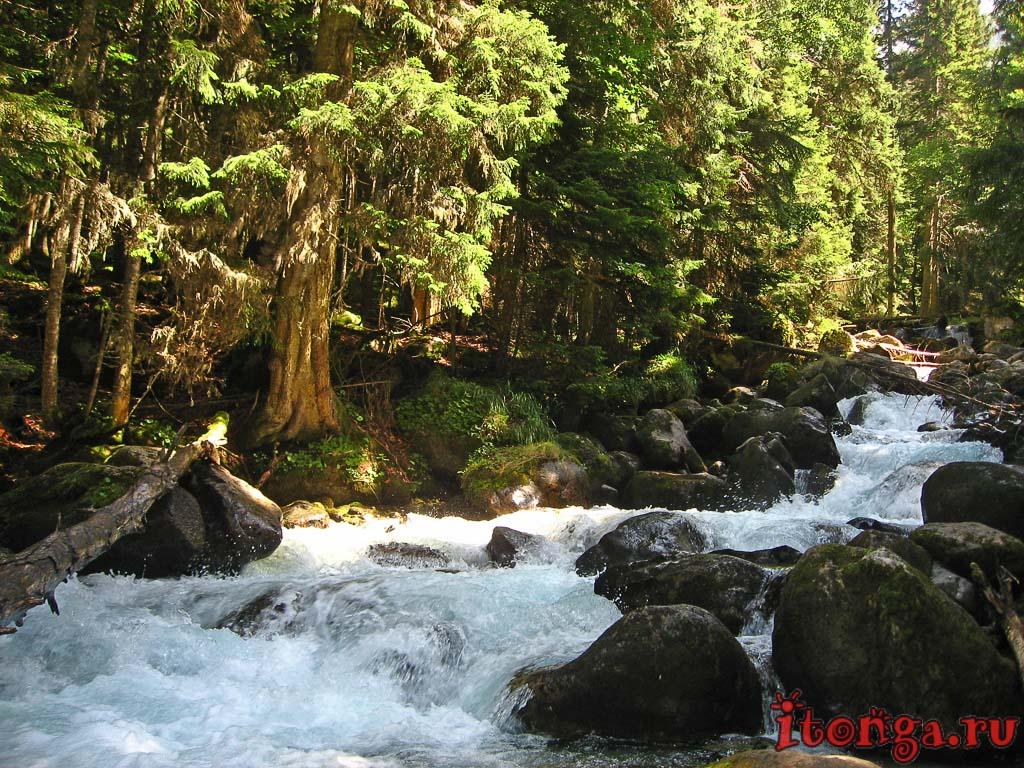 Теберда, Домбай, река, Уллу-Муруджу, река Муруджу