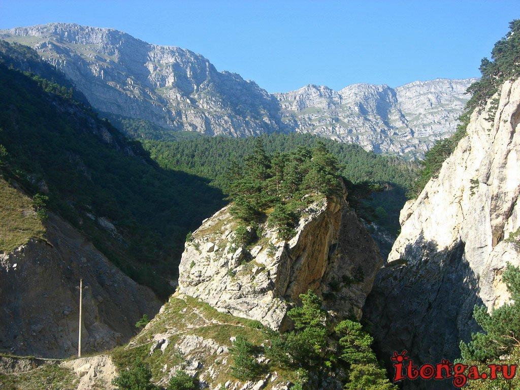 Северная Осетия, Алания, Кавказ, Куртатинское ущелье, Кадаргаван