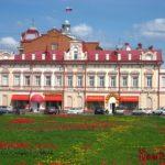 Томск. Проспект Ленина, Ново-Соборная площадь и Городской сад