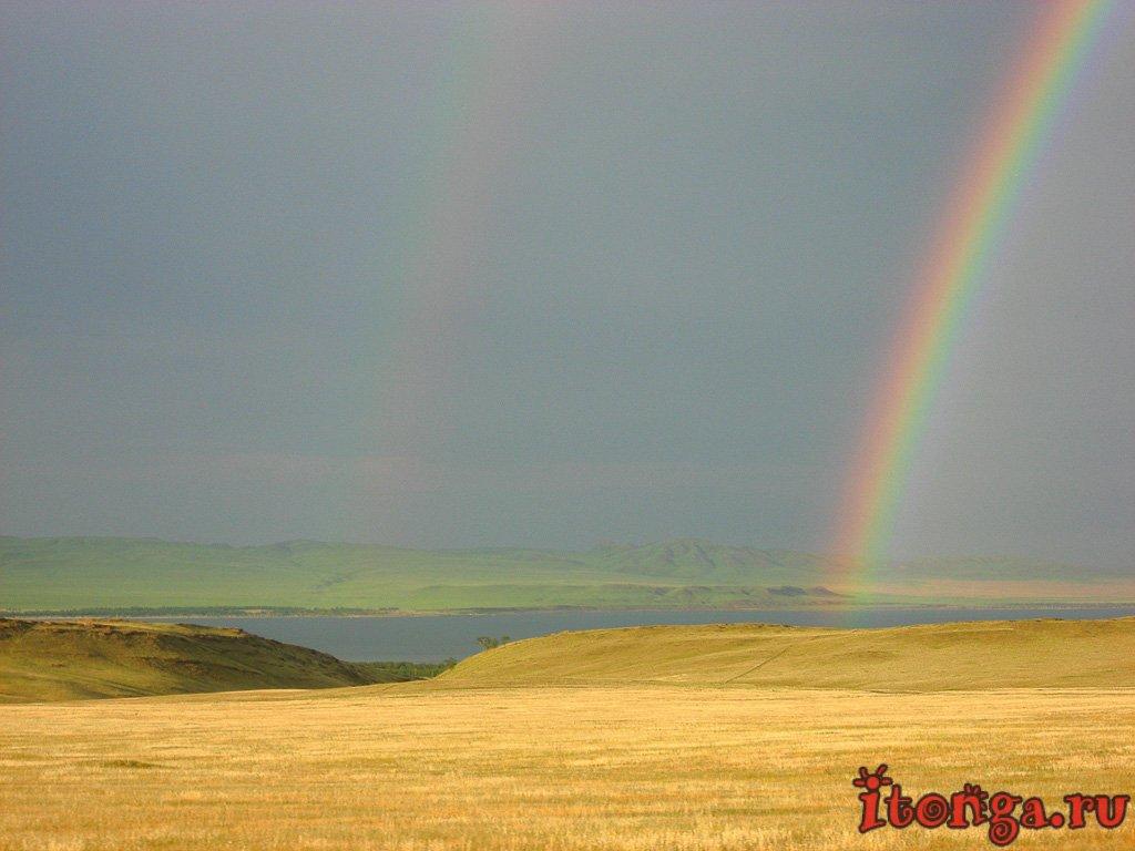 Хакасия, республика Хакасия, природа, фото, озёра, радуга,