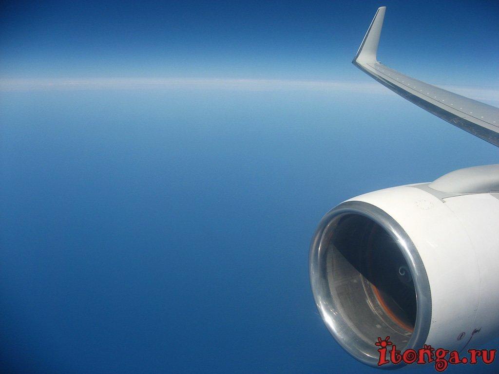 вид из самолёта, самолёт, вид из окна