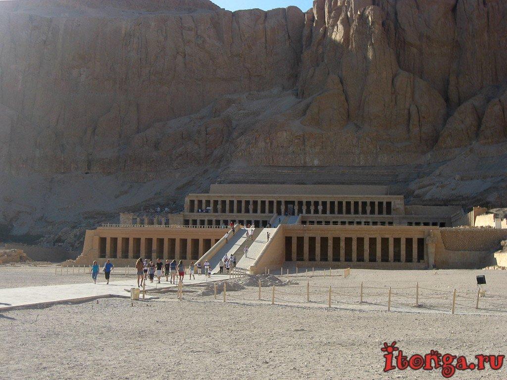 храм Хатшепсут, Луксор, Египет, Дейр эль-Бахри