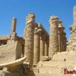 Храм в Карнаке Амона Ра - искусство Древнего Египта
