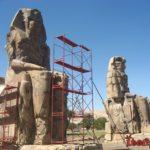Египет. Колоссы Мемнона - стражи храма Аменхотепа в Луксоре