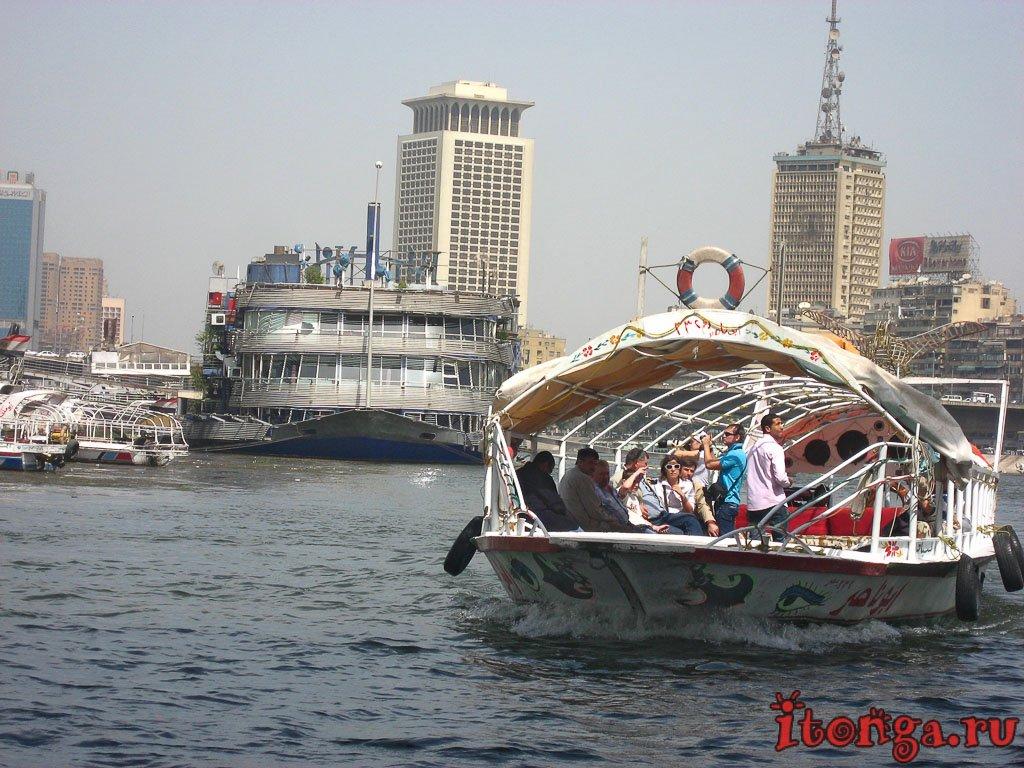 Нил, Каир, Египет, круиз, река