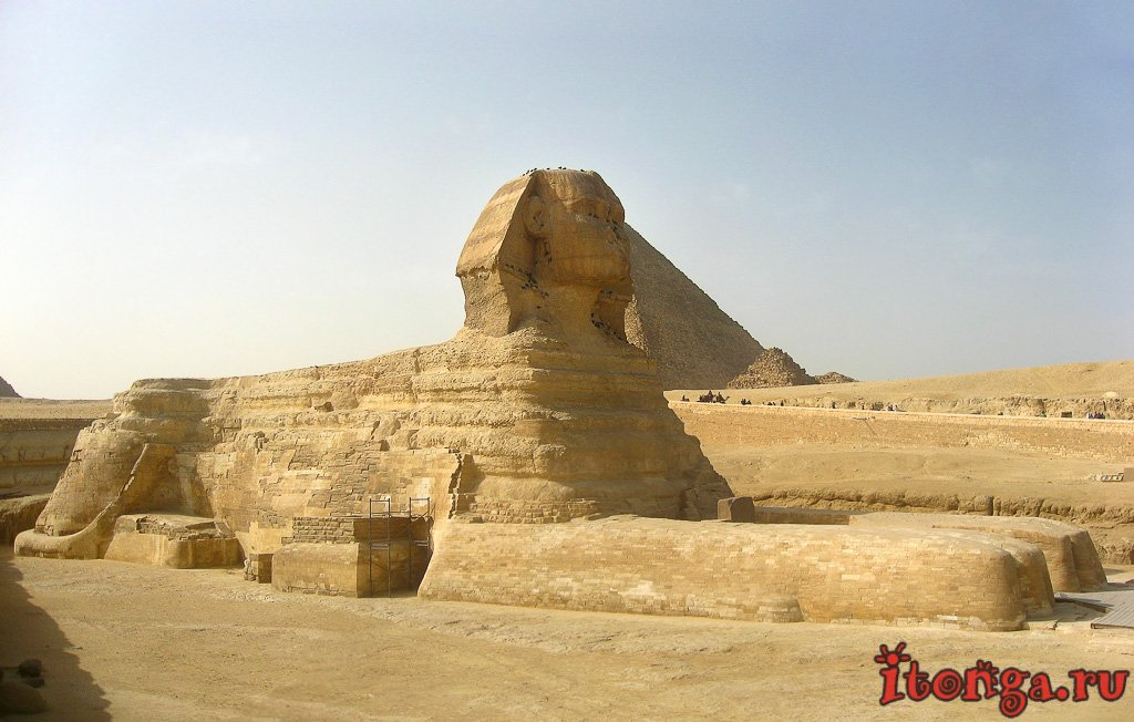Сфинкс,Египет, Гиза, статуя Сфинкса