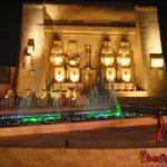 Хругада. Шоу 1001 ночь - поющие фонтаны в Египте, в отеле Альф Лейла Ва Лейла