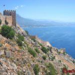 Ичкале — крепость на горе в Аланьи