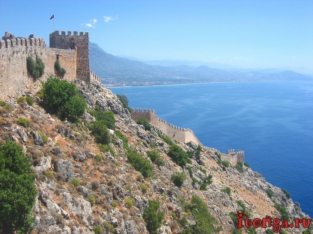 Ичкале, крепость, Алания, Аланья, Турция
