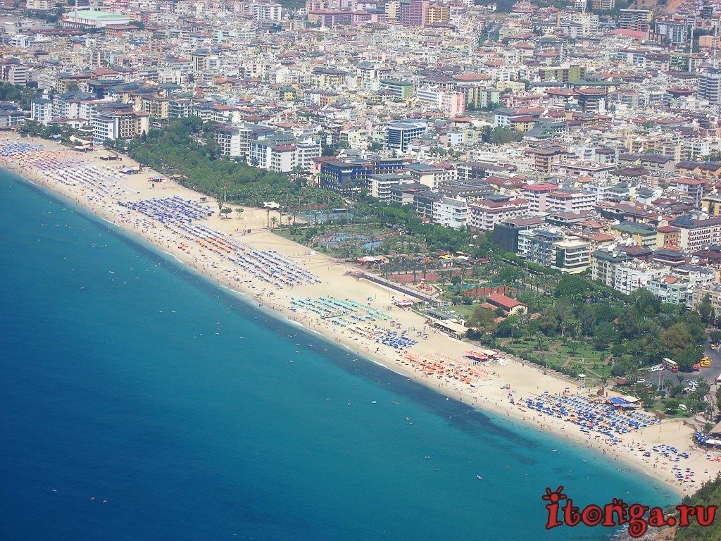 Алания, Турция, пляж Клеопатры, Аланья