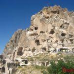 Крепости Каппадокии: Учхисар, Башхисар и Ортахисар