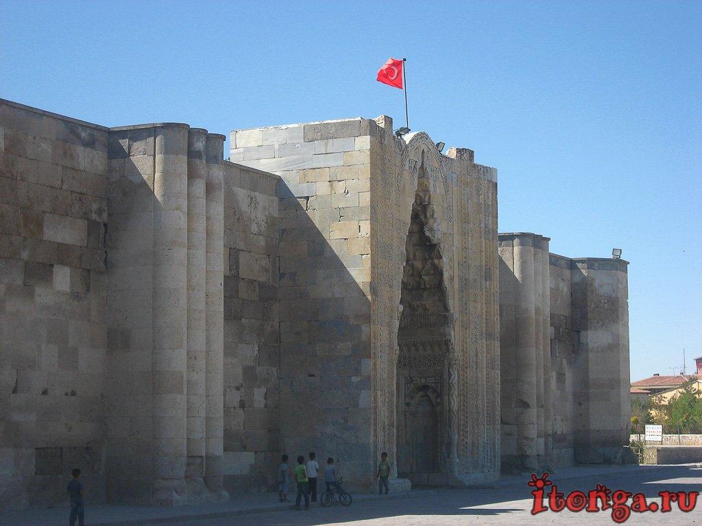 караван-сарай, Султанханы, Турция