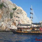 Экскурсия на яхте в Алании - морская прогулка вокруг полуострова