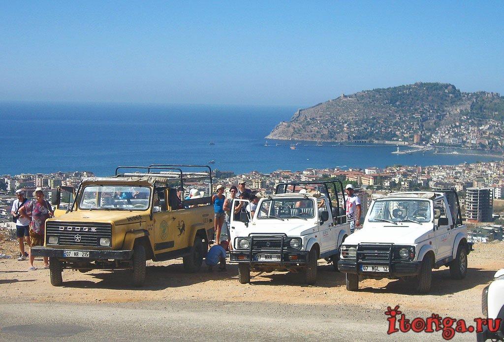 Джип сафари, Алания, Аланья, Турция