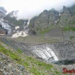 Цей и Сказский ледник. Северная Осетия