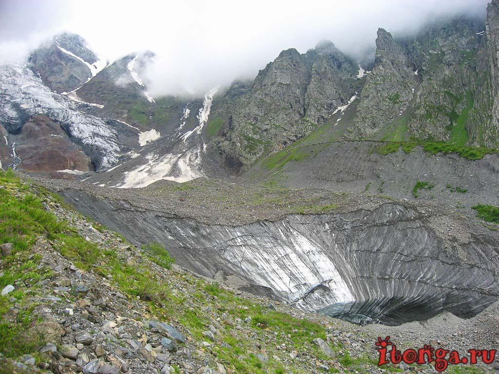 Цей, Сказский ледник, Кавказ, Северная Осетия, Алания