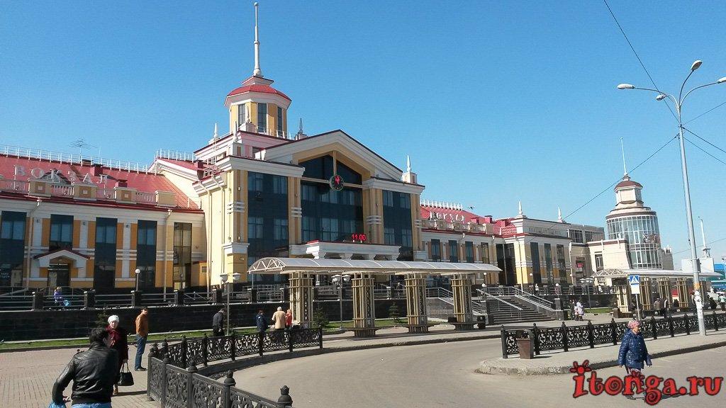 Новый вокзал, жд вокзал, железнодорожный вокзал, Новокузнецк,