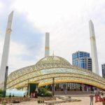 Чечня: Аргун Сити и мечеть имени Аймани Кадыровой