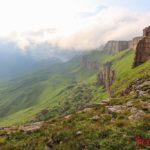 Плато Бермамыт - горы среди облаков