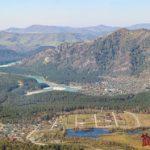 Горный Алтай: Манжерок. Канатная дорога на гору Малая Синюха и Манжерокское озеро