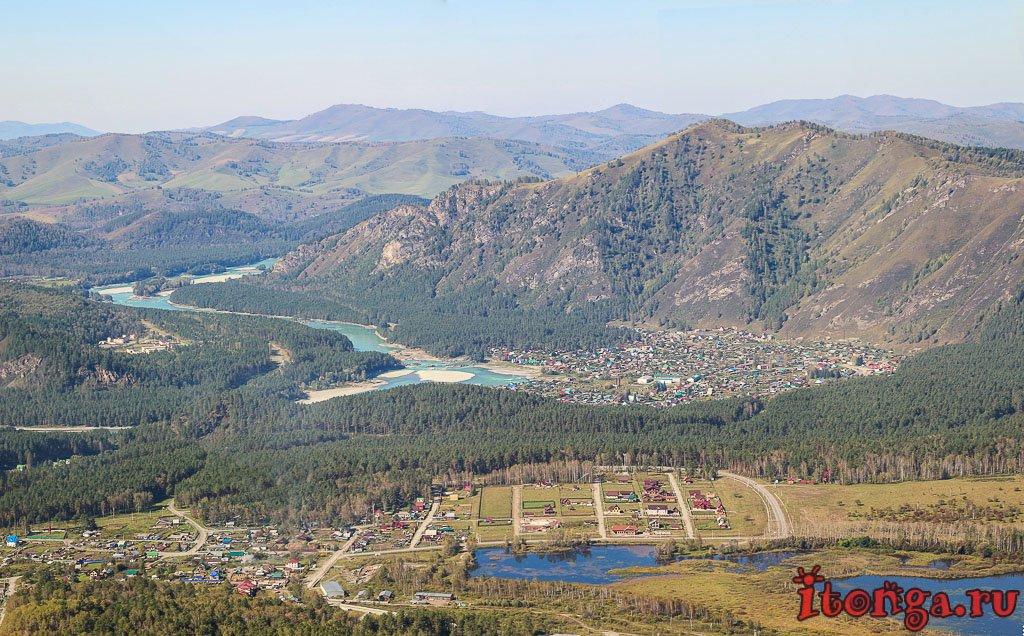Горный Алтай, Манжерок, озеро Манжерок, Манжерокское озеро, Доингол, канатная дорога, гора, Малая Синюха,