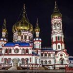 Ночной Новокузнецк (9 фото)