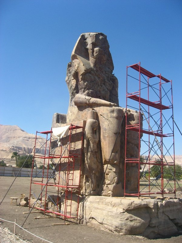 Египет, Колоссы Мемнона в Луксоре