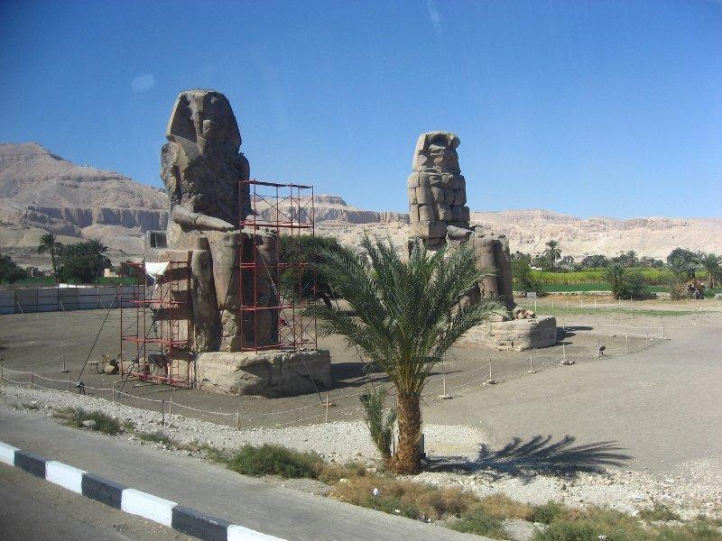 Колоссы Мемнона, Египет, Луксор