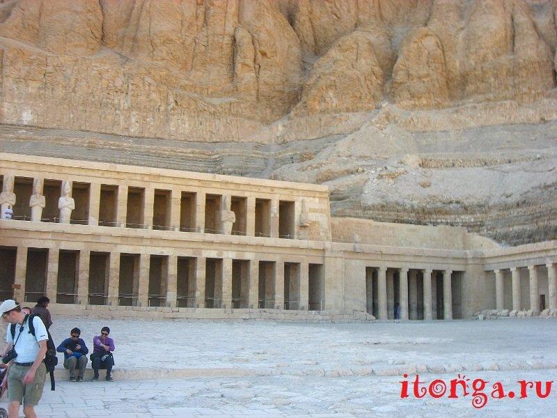 Храм Хатшепсут в Египте