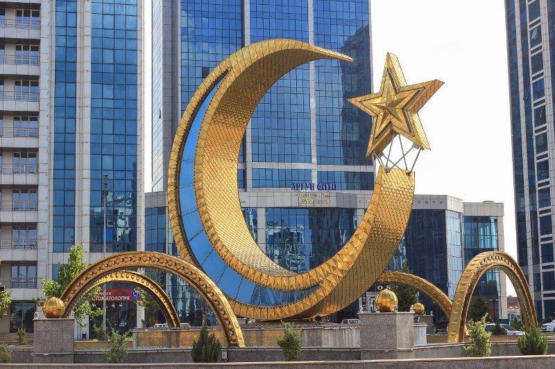 Чечня, Аргун Сити, Мечеть в Аргуне