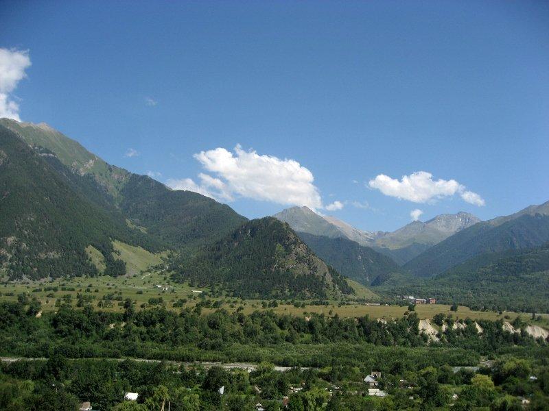 теберда, кавказ, горы