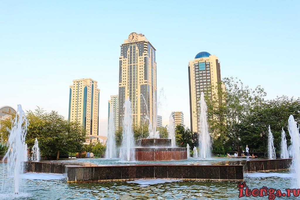 Грозный Сити, Сердце Чечни, город Грозный