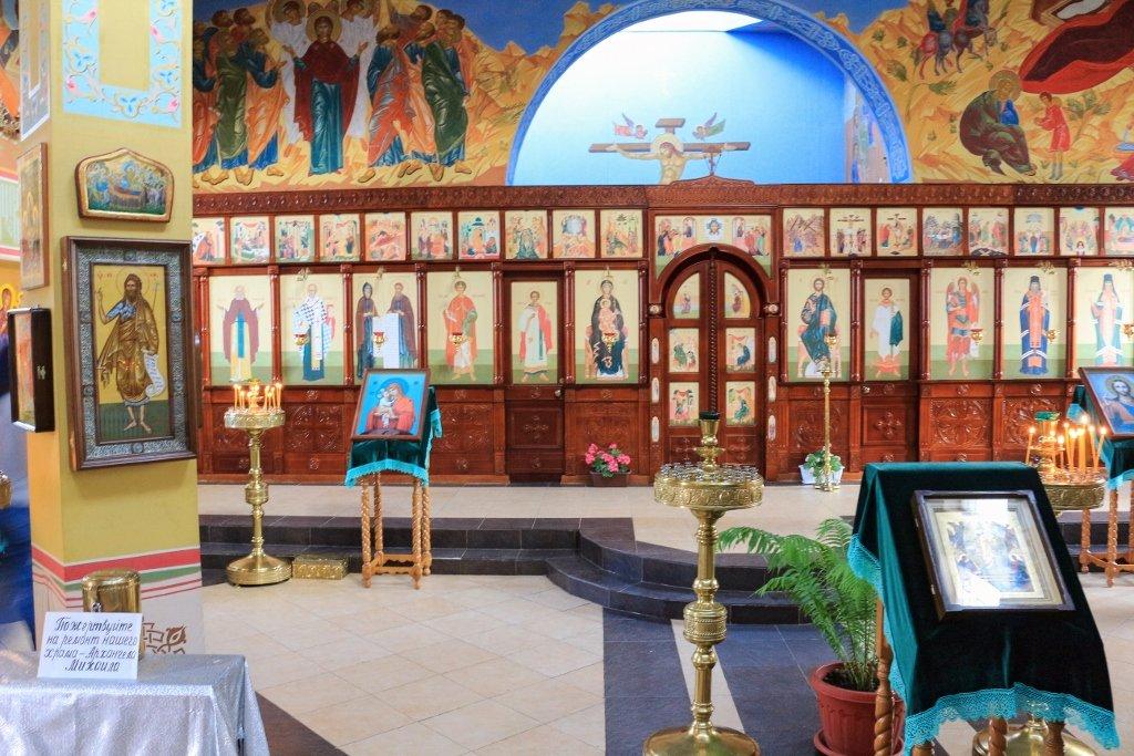 храм в Грозном, церковь, Грозный, Чечня