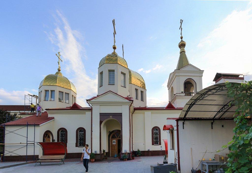 православный храм, церковь, Грозный, Чечня