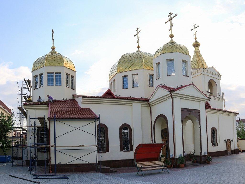 храм, церковь, Грозный, Чечня