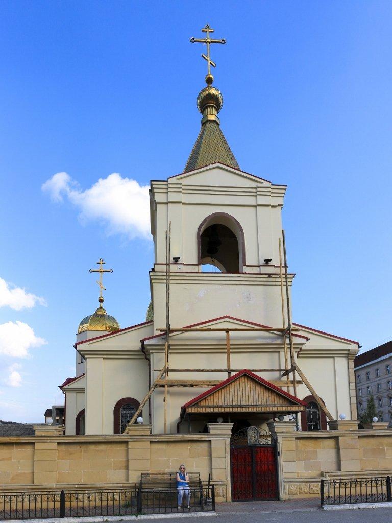 храм Архангела Михаила, церковь, Грозный, Чечня