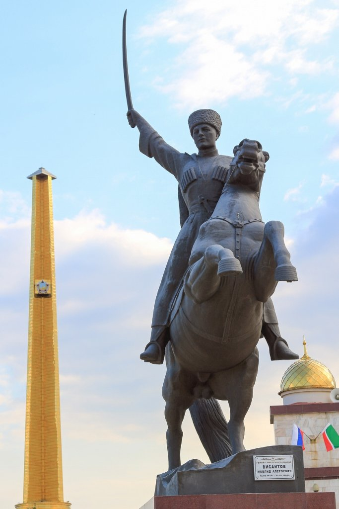 музей Кадырова, музей Ахмата Кадырова, Чечня, Грозный