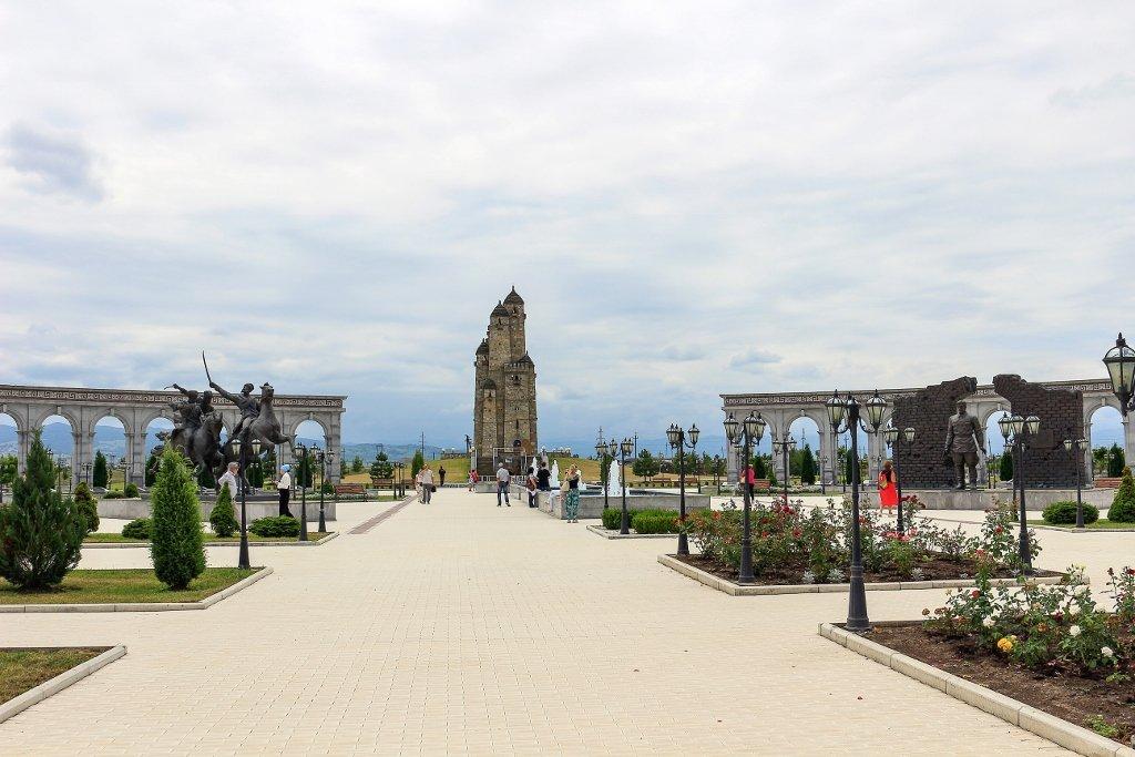 Мемориал памяти и славы, Назрань, Ингушетия, Мемориальный комплекс