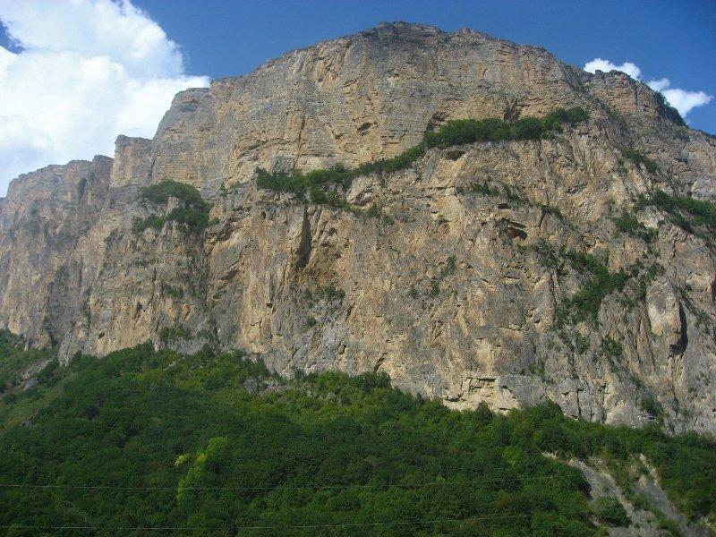 Черекская теснина, Черекское ущелье, Кабардино-Балкария, КБР, Верхняя Балкария