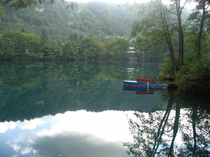 Голубое озеро, Черекское ущелье, Кабардино-Балкария, КБР