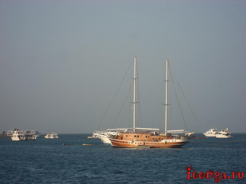 лодка, транспорт Египта, корабль, судно, море
