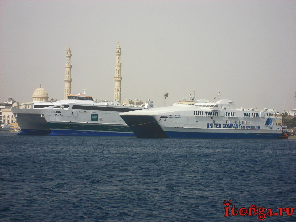 морские корабли, транспорт Египта, корабль, судно, море