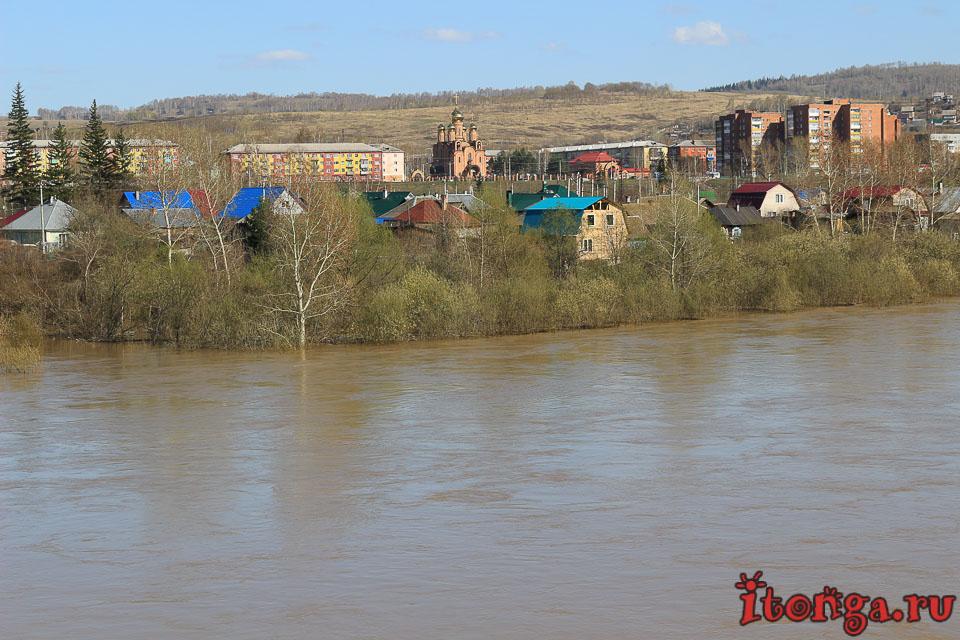 Наводнение в Новокузнецке - Реки - siberia, russia, osinniki, novokuznetsk, kuzbass
