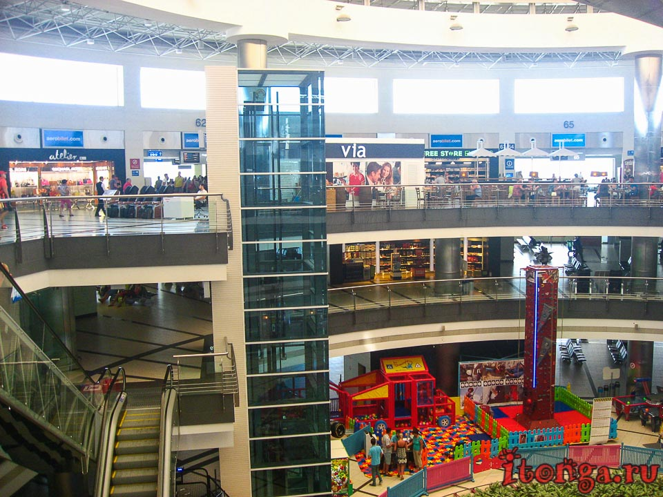 Аэропорт, Анталия, Анталья, Турция, онлайн табло, табло вылета,