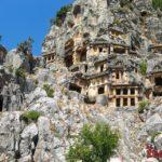 Ликийские гробницы в Турции
