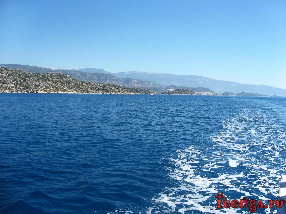 Турция, море, средиземное море, красивые места,