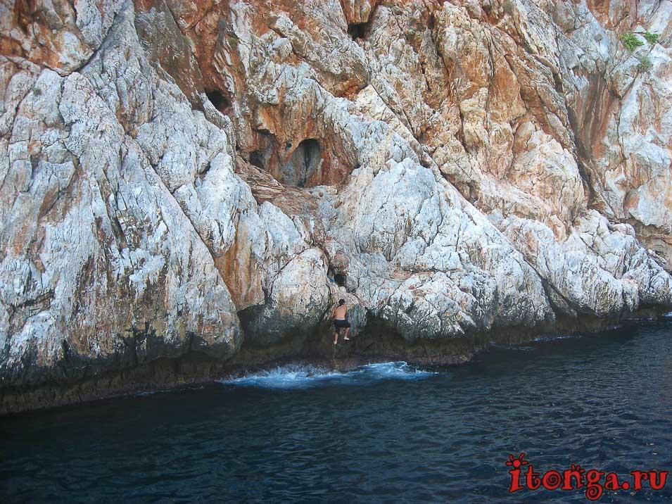 пещеры Аланьи, пещеры Турции, пещера влюблённых,